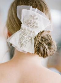 wedding hair bows wedding hairstyles hair bow 2035332 weddbook
