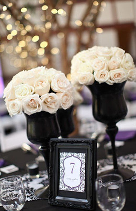 Black And White Wedding - Weddings - Black  White #2133508 - Weddbook - pink black and white weddings