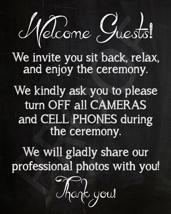 8x10 Instant Download, Printable Wedding Sign, Wedding Favor