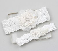 Lace Garter Set - Wedding Garter Set, Bridal Garter Set ...