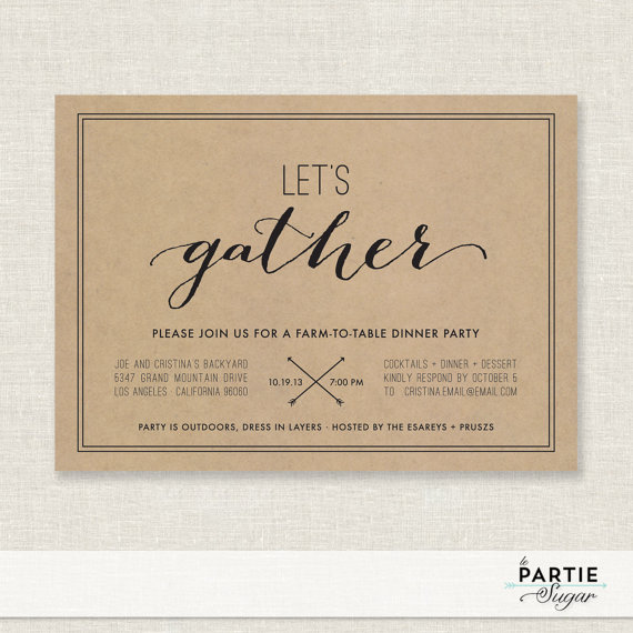 printable dinner invitations - Goalgoodwinmetals - Free Printable Dinner Party Invitations