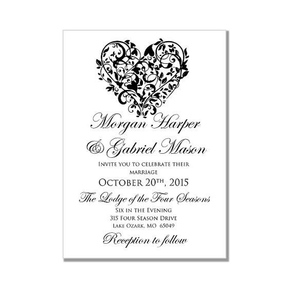 blank wedding invitation templates for microsoft word - Ozilalmanoof - invitation templates word