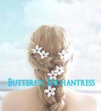 Something Blue Hair Flowers, Beach Wedding Hair ...