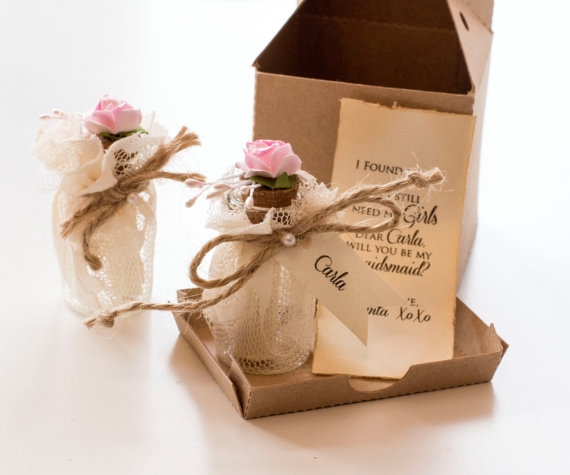 Bridesmaid Proposal Will You Be My Bridesmaid Message In