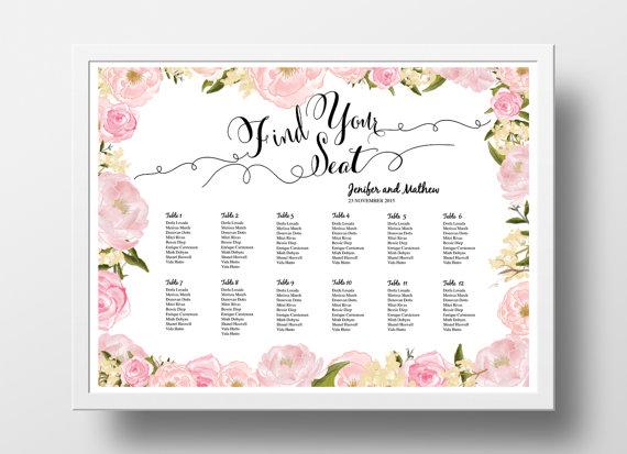 free wedding seating plan tool free printable wedding seating chart