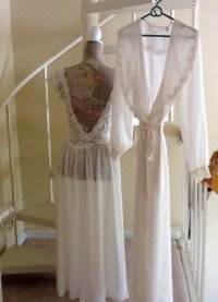 Vintage Victoria Secrets Bridal Lingerie Set / With Tags ...