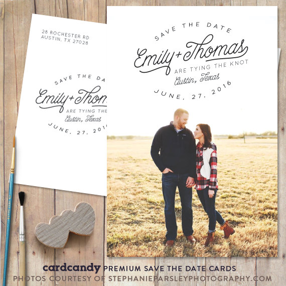 Save The Date Card, Save-The-Date Magnet, Save The Date Postcard - save date postcard