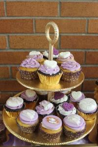 Elegant Lavender & Gold Bridal/Wedding Shower Party Ideas ...