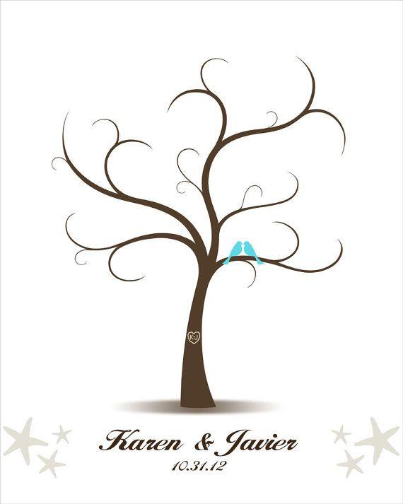 Wedding Guest Book - Personalized Wedding - Printable JPEG - Digital
