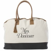 Bridal Weekender Tote, Bridal Shower Gift Idea