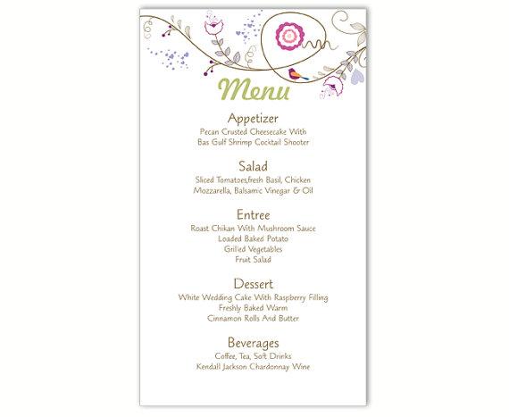 wedding menu template word - Bire1andwap