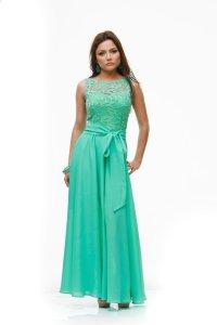 Wedding Aqua Mint Maxi Dress,Formal Chiffon Lace Dress ...