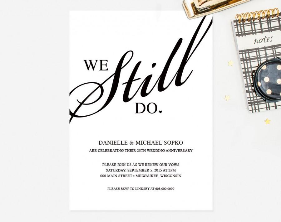 invitation outline black and white invitation template elegant