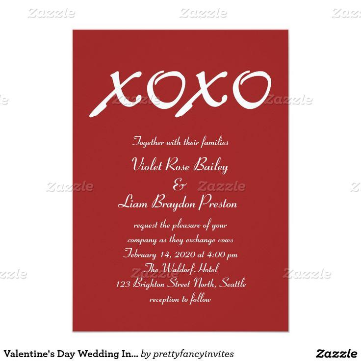 Wedding Theme - Valentine\u0027s Day Wedding Invitation #2406371 - Weddbook