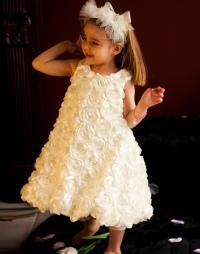 Flower Girl Dress, Communion Dress, Toddler Dress, Baptism ...