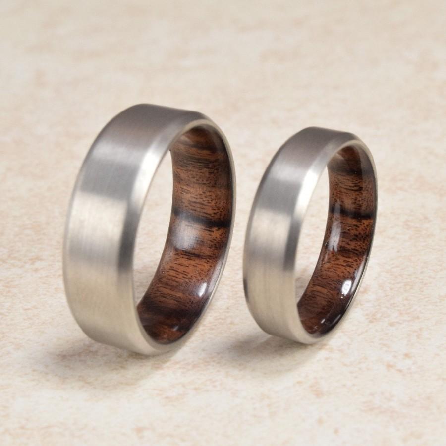 exotic wedding rings titanium santos mahogany exotic hardwood ring men s download - Exotic Wedding Rings