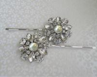 Ivory Pearl Hair Pin Wedding Hair Accessories Bridal Bobby ...
