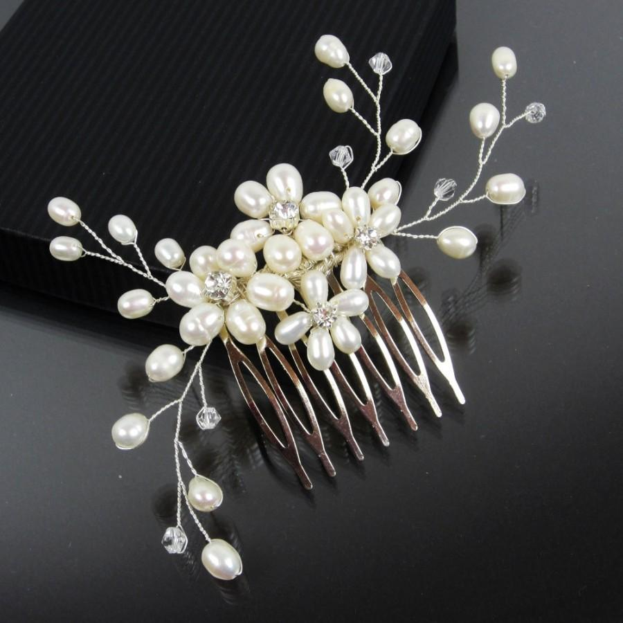 Pearl Wedding Hair Accessories
