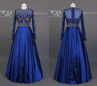 Long Sleeve Royal Blue Prom Dresses | www.pixshark.com ...