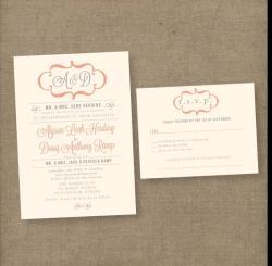 Frantic Vintage Wedding Invitations Wedding Invites Formal Blush Rustic By Anna Malie Design Love Studio Vintage Wedding Invitations Vintage Wedding Invitations Lace