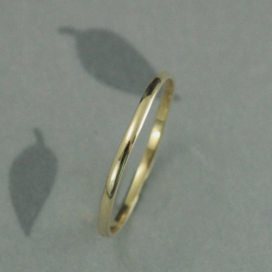 scrolls thin wedding band 14k yellow thin wedding bands Art Deco wedding ring zoom
