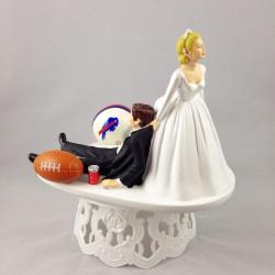 Small Crop Of Wedding Cake Toppers Funny