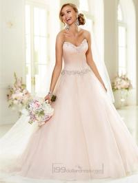 Elegant Beaded Sweetheart Neckline Ball Gown Wedding ...
