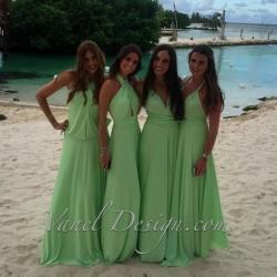 Pleasing Bridesmaid Dress Infinity Bridesmaids Dress Green Color Convertible Bridesmaids Dressone Dress Endless Styles 50 Colors Ivory Convertible Bridesmaid Dresses Cheap Convertible Bridesmaid Dress