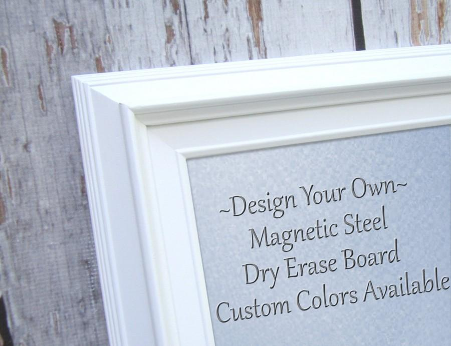 MAGNET BOARDS For Sale Decorative White Framed Magnetic Board Dry
