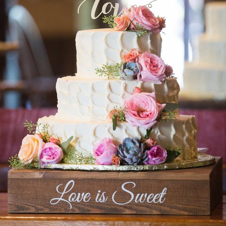 stand wedding cake stands Rustic Wedding Cake Stand