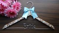 HUGE SALE Personalized Keepsake Bridal Hanger, Beach Theme ...