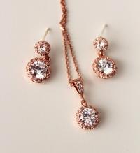 Gold Wedding Jewelry Sets Necklace  fashion dresses