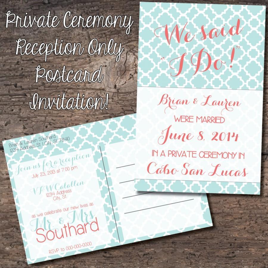 wedding reception invitations only reception only wedding invitations Wedding Invitation Wording Invite Only Inspiring