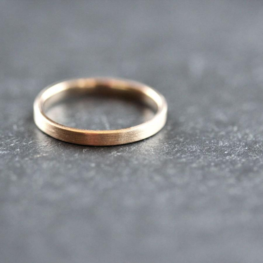 wide mens gold wedding band recycled 14k brushed gold wedding band zoom