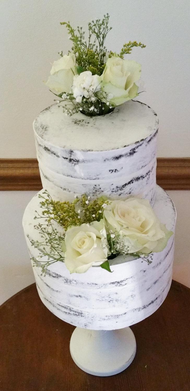 fake faux wedding cake real white fake wedding cakes zoom