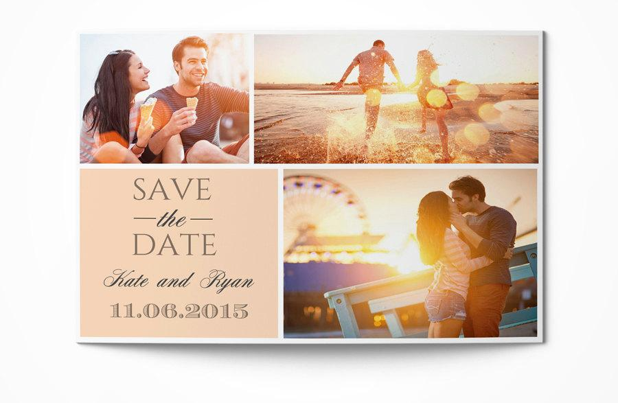 Photographer Save The Date Template Photography Save The Date Design - Save The Date Wedding Templates