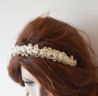Wedding Hair Wreaths & Tiaras, Wedding Flower Crown, vory ...