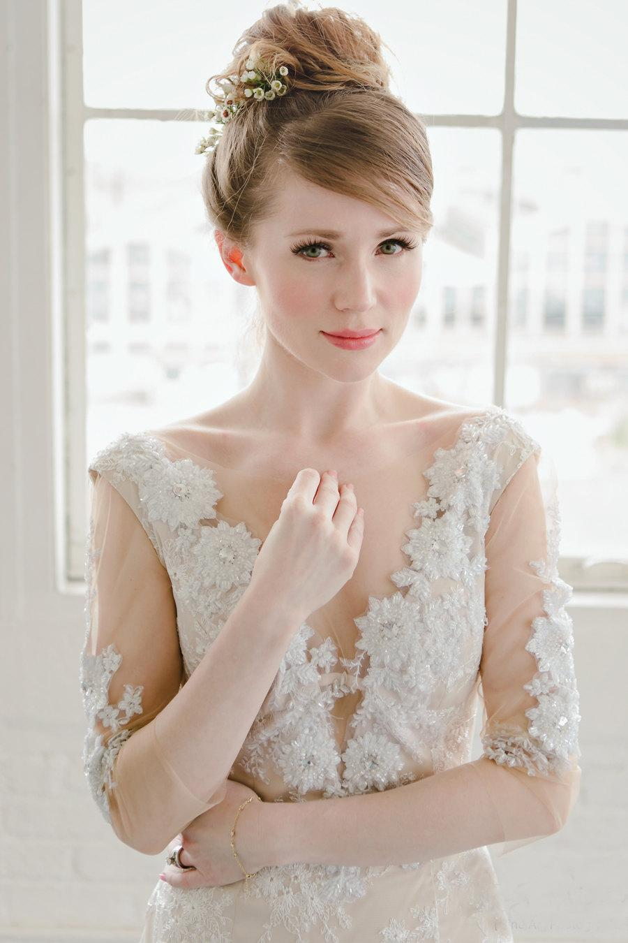 fitted wedding dresses low back wedding dress Berta Fall Wedding Dresses