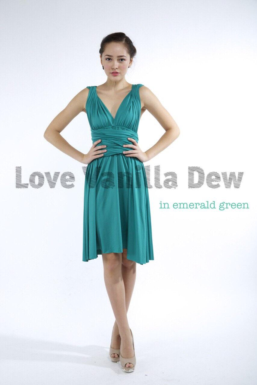 junior bridesmaid dresses emerald green emerald wedding dress Junior Semi Formal Dresses Bubble Hemline
