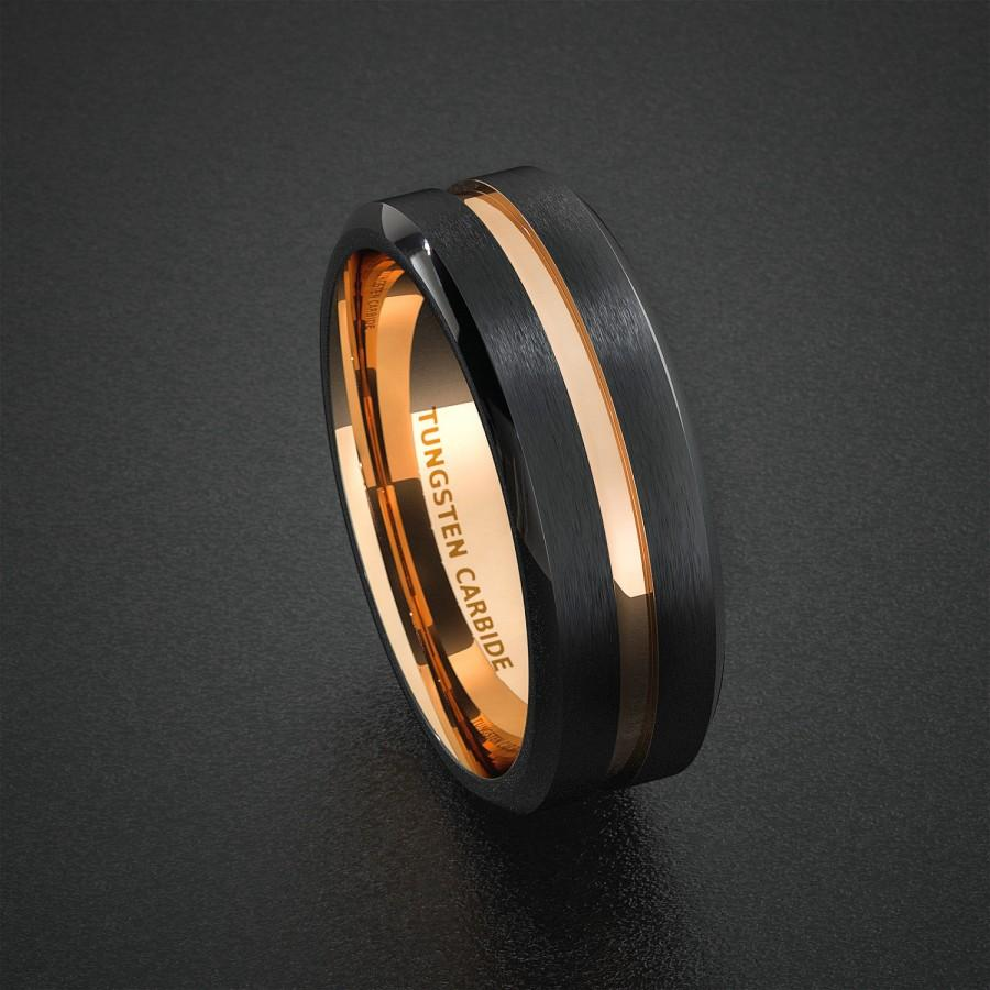 mens wedding band tungsten carbide 1 tungsten carbide wedding bands Hover to zoom