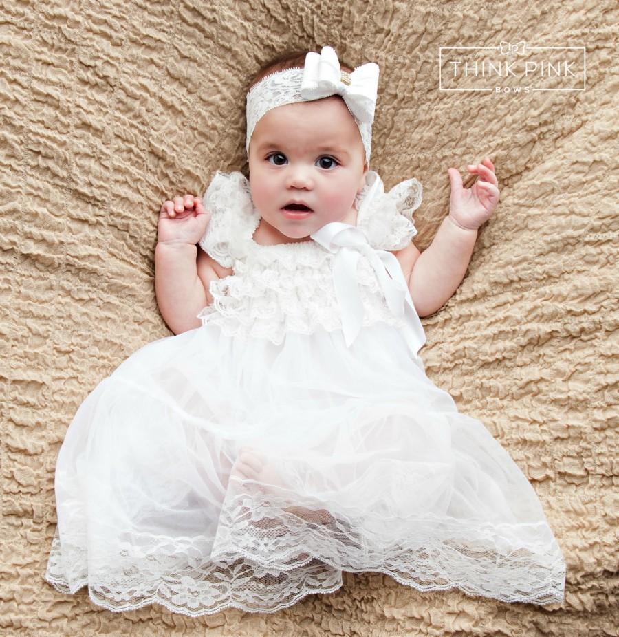 Baby Dress, Flower Girl Dress, Rustic Flower Girl, Country