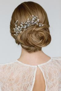 Wedding Hair Accessories , Bridal Hairpiece ,Crystal Pearl ...