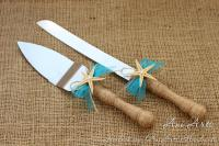 Beach Wedding Cake Server And Knife Nautical Wedding Cake ...
