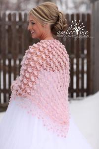 Winter Wedding Shawl, Bridal Cape, Bridal Cover Up, Bolero ...