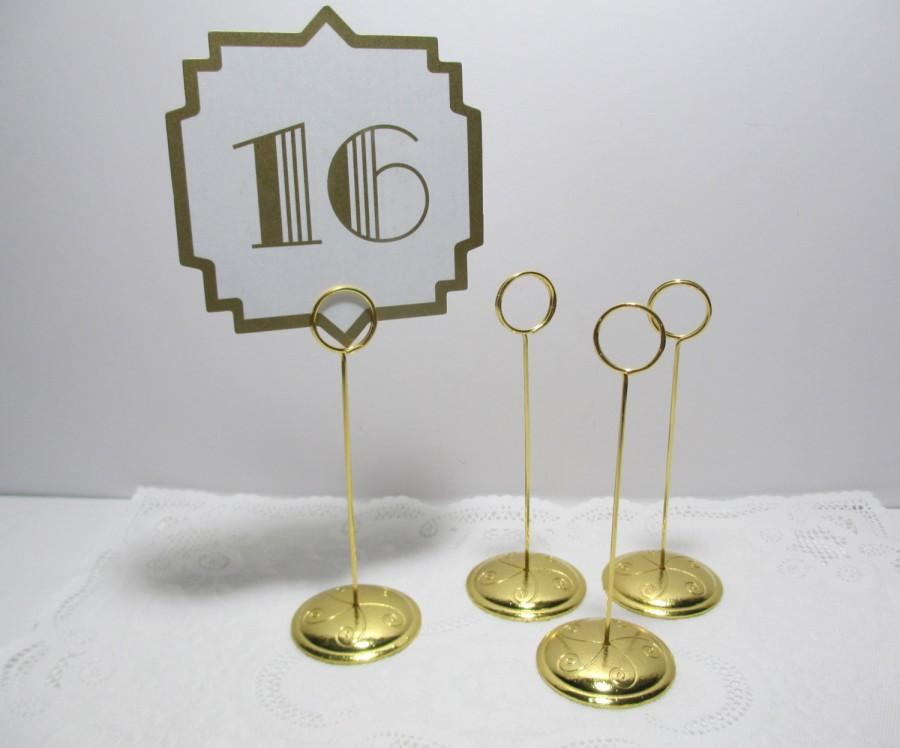 Table Card Holders Gold Modern Coffee Tables And Accent