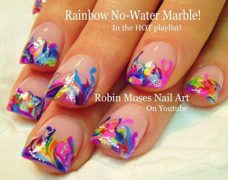Nail Water Marble Art Communiquerenligne