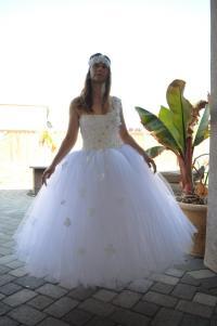 Wedding Tutu Dresses - Bridesmaid Dresses Sleeves