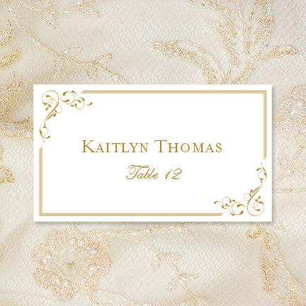 Printable Place Cards \