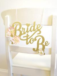 Bridal Shower Chair Decoration - Wedding Shower Chair ...