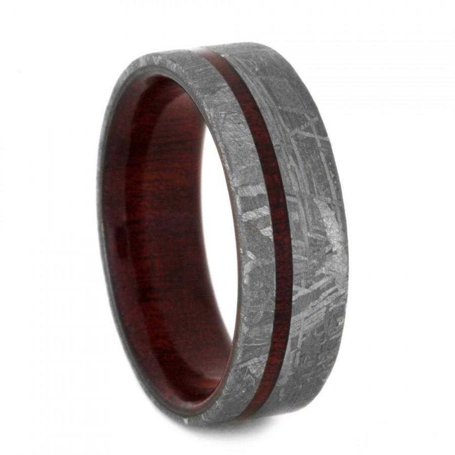 bling jewelry wood inset mens tungsten beveled edge ring 8mm wood mens wedding bands Knock Wood Ring